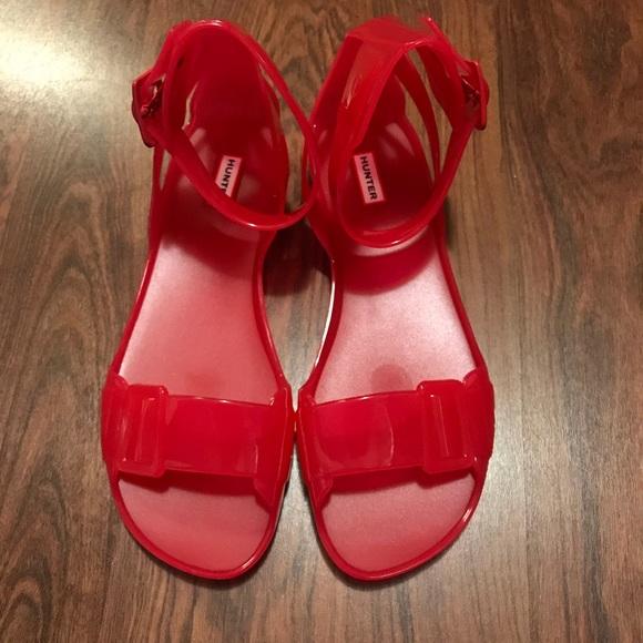 372427c122a9 Hunter Shoes - Hunter Original Open Toe Jelly Sandal